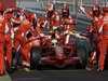 TEST BARCELONA2, TEST F1 BARCELONA (SPAIN) - 19/22 FEBRUARY 2008 - HEIKKI KOVALAINEN - PIT STOP SIMULATION © FOTO ERCOLE COLOMBO