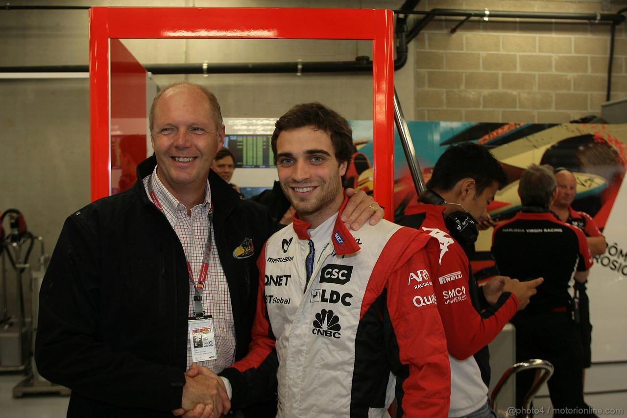 GP BELGIO, 26.08.2011- Prove Libere 1, Venerdi', Jerome D'Ambrosio (BEL), Marussia Virgin Racing VR-02
