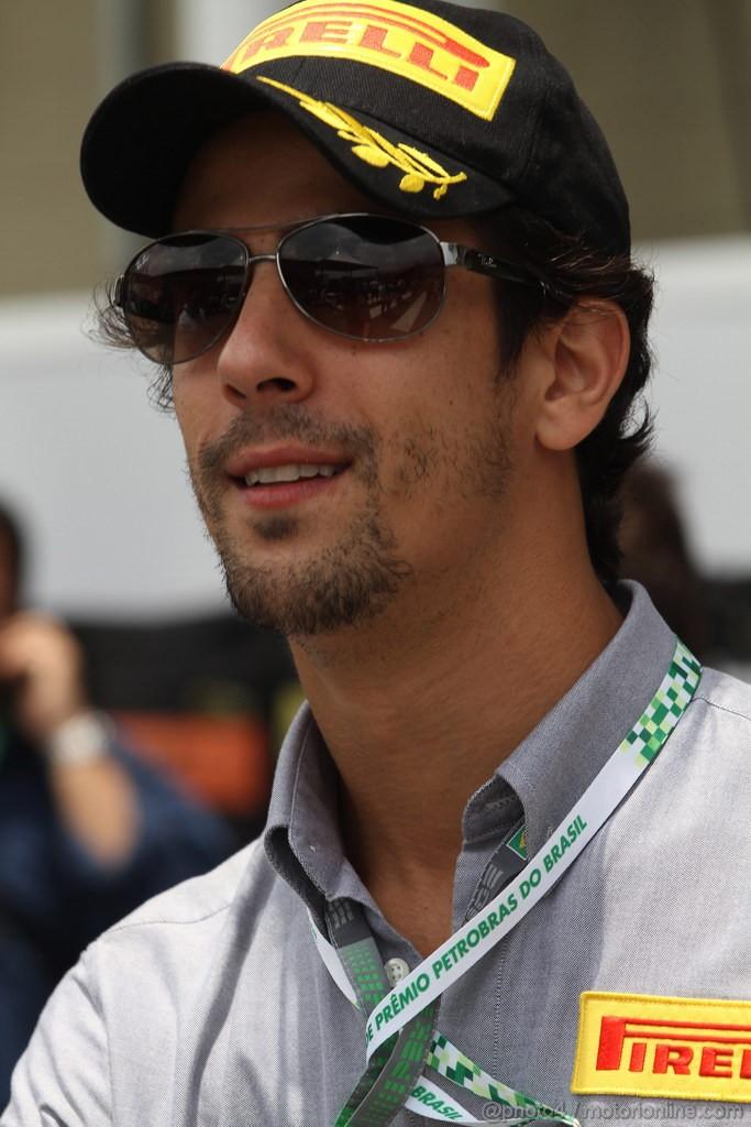 GP BRASILE, 27.11.2011- Lucas Di Grassi (BRA), Test driver Pirelli