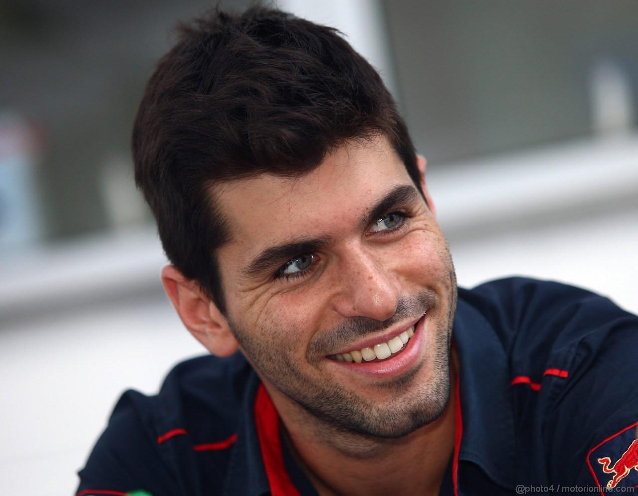 GP BRASILE, 24.11.2011- Jaime Alguersuari (SPA), Scuderia Toro Rosso, STR6