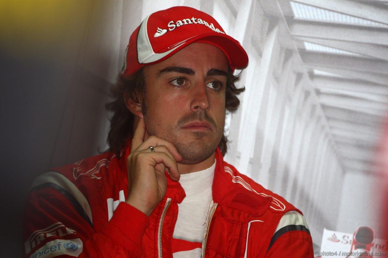 GP CINA, 15.04.2011- Fernando Alonso (ESP), Ferrari, F-150 Italia