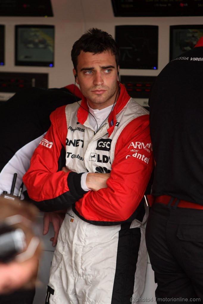 GP EUROPA, 24.06.2011- Prove Libere 1, Venerdi', Jerome D'Ambrosio (BEL), Marussia Virgin Racing VR-02