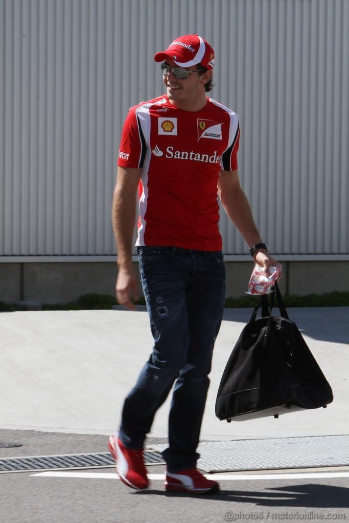 GP GIAPPONE, 06.10.2011- Jules Bianchi (FRA), Test Driver, Ferrari