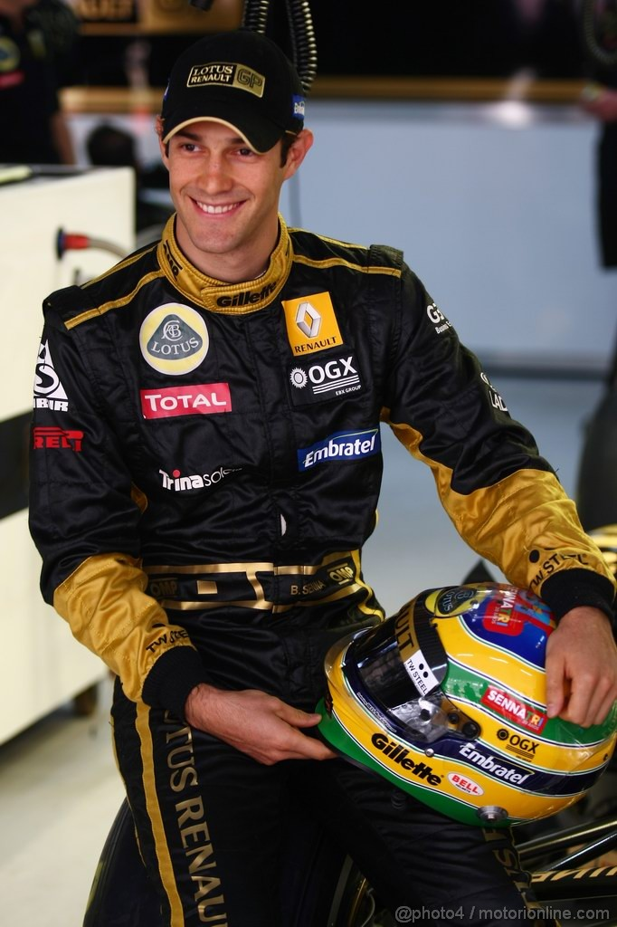GP INDIA, Bruno Senna (BRA), Lotus Renault GP