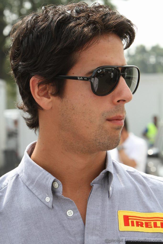 GP ITALIA, 10.09.2011- Prove Libere 3, Sabato, Lucas Di Grassi (BRA), Test Driver Pirelli