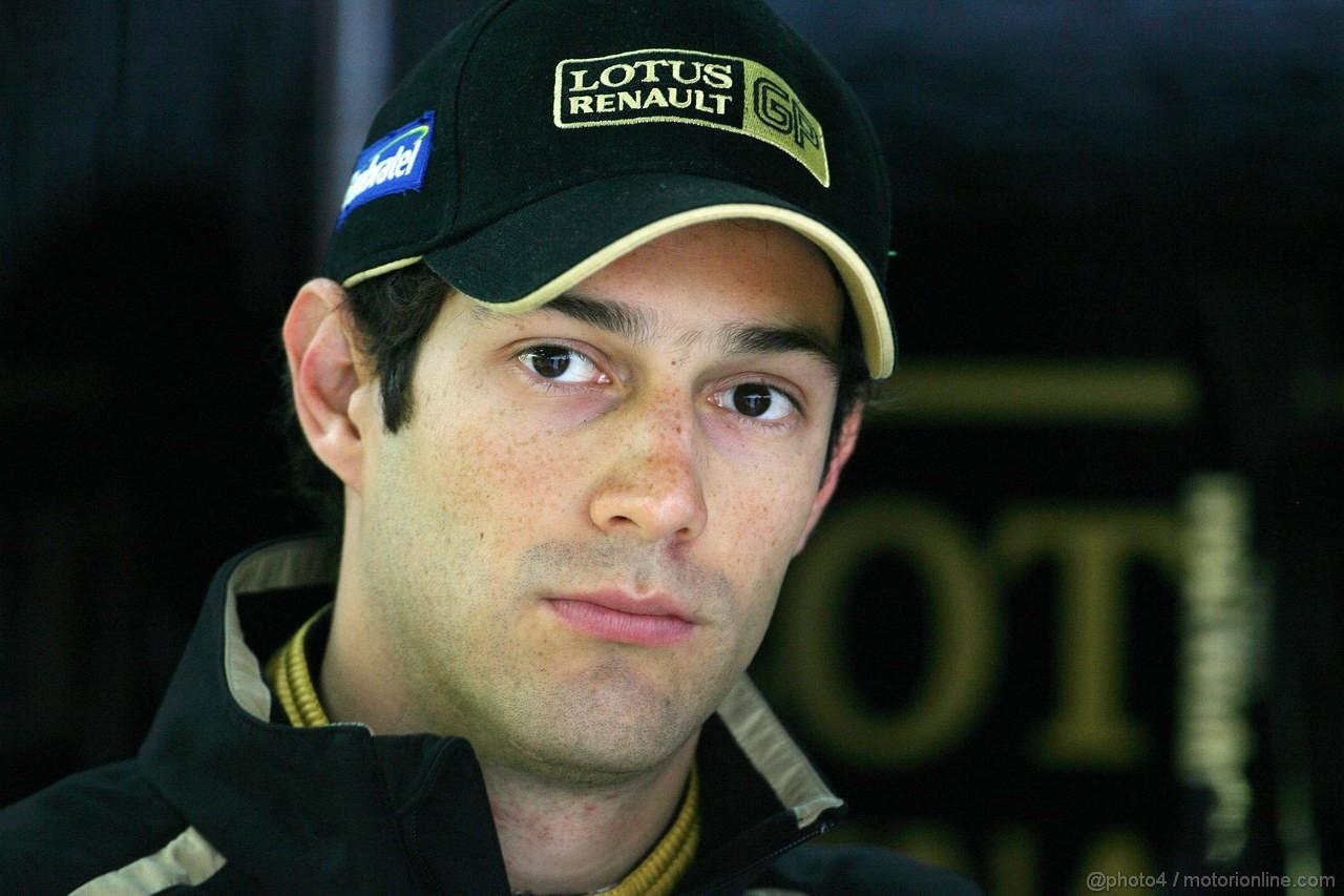 GP KOREA, 14.10.2011- Prove Libere 1, Venerdi', Bruno Senna (BRA), Lotus Renault GP R31