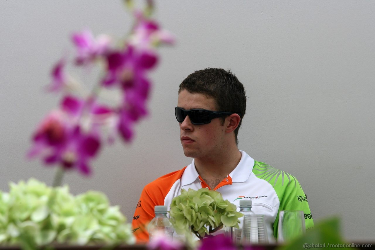 GP SINGAPORE, 23.09.2011- Paul di Resta (GBR) Force India VJM04
