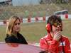 Barcelona Test Marzo 2012, 03.03.2012, Barcelona, Spain, Fernando Alonso (ESP), Ferrari with Carmen Jorda Indy lights driver