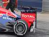 Barcelona Test Marzo 2012, 04.03.2012 Sebastian Vettel (GER), Red Bull Racing rear wing end plate