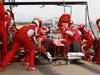 Barcelona Test Marzo 2012, 04.03.2012 Fernando Alonso (ESP), Ferrari pit stop