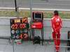 Barcelona Test Marzo 2012, 04.03.2012 Ferrari mechanic