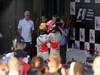 GP AUSTRALIA, Podium – 1st Jenson Button (GBR) McLaren Mercedes, 2nd Sebastian Vettel (GER) Red Bull Racing & 3rd Lewis Hamilton (GBR) McLaren Mercedes