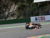 GP BELGIO, 02.09.2012- Gara, Paul di Resta (GBR) Sahara Force India F1 Team VJM05 e Mark Webber (AUS) Red Bull Racing RB8