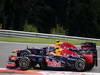 GP BELGIO, 02.09.2012- Gara, Sebastian Vettel (GER) Red Bull Racing RB8 e Mark Webber (AUS) Red Bull Racing RB8