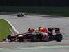 GP BELGIO, 02.09.2012- Gara, Sebastian Vettel (GER) Red Bull Racing RB8 e Felipe Massa (BRA) Ferrari F2012
