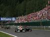 GP BELGIO, 02.09.2012- Gara, Paul di Resta (GBR) Sahara Force India F1 Team VJM05 e Daniel Ricciardo (AUS) Scuderia Toro Rosso STR7