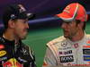 GP BELGIO, 02.09.2012- Gara, Conferenza Stampa, Sebastian Vettel (GER) Red Bull Racing RB8 e Jenson Button (GBR) McLaren Mercedes MP4-27