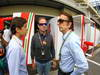 GP BRASILE, 25.11.2012- Pietro Fittipaldi, Rubens Barrichello (BRA), Williams FW33 e Emerson Fittipaldi (BRA), Ex F1 Champion
