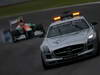 GP BRASILE, 25.11.2012- Gara, Safety car davanti a Nico Hulkenberg (GER) Sahara Force India F1 Team VJM05