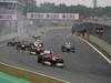 GP BRASILE, 25.11.2012- Gara, Fernando Alonso (ESP) Ferrari F2012 davanti a Felipe Massa (BRA) Ferrari F2012