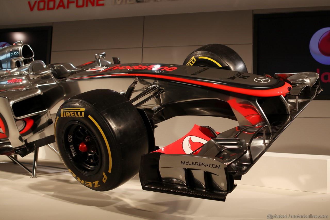 McLaren MP4-27 F1 2012
