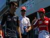 GP GERMANIA, 07.07.2013- (L-D) Mark Webber (AUS) Red Bull Racing RB9, Jenson Button (GBR) McLaren Mercedes MP4-28 e Fernando Alonso (ESP) Ferrari F138