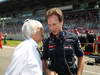 GP GERMANIA, 07.07.2013-  Gara, Bernie Ecclestone (GBR), President e CEO of Formula One Management  e Christian Horner (GBR), Red Bull Racing, Sporting Director