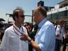 GP GERMANIA, 07.07.2013-  Gara, Emanuele Pirro (ITA), FIA Steward e Hans Stuck