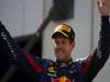 GP GERMANIA, 07.07.2013-  Gara, Sebastian Vettel (GER) Red Bull Racing RB9 vincitore