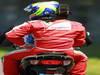GP GERMANIA, 07.07.2013-  Gara, Felipe Massa (BRA) Ferrari F138 retires from the race
