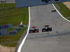 GP GERMANIA, 07.07.2013-  Gara, Jenson Button (GBR) McLaren Mercedes MP4-28 e Romain Grosjean (FRA) Lotus F1 Team E21