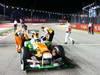 GP SINGAPORE, 22.09.2013- Gara: Adrian Sutil (GER), Sahara Force India F1 Team VJM06