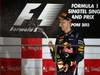 GP SINGAPORE, 22.09.2013- Podium: Sebastian Vettel (GER) Red Bull Racing RB9 (vincitore)