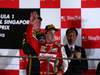 GP SINGAPORE, 22.09.2013- Podium: Fernando Alonso (ESP) Ferrari F138 (secondo)