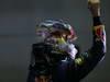 GP SINGAPORE, 22.09.2013- Gara,  Sebastian Vettel (GER) Red Bull Racing RB9 celebrates the win of the race