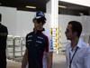 GP SINGAPORE, 22.09.2013- Pastor Maldonado (VEN) Williams F1 Team FW35 e Nicholas Todt (FRA)