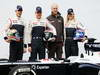 WILLIAMS  FW35, (L to R): Pastor Maldonado (VEN) Williams with team mate Valtteri Bottas (FIN) Williams; Jean-Michel Jalinier (FRA) Renault President, e Susie Wolff (GBR) Williams Development Driver.