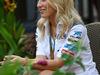 GP SINGAPORE, 21.09.2014 - Jennifer Becks (GER), girlfriend of Adrian Sutil (GER)