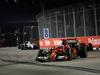 GP SINGAPORE, 21.09.2014 - Gara, Fernando Alonso (ESP) Ferrari F14-T davanti a Marcus Ericsson (SUE) Caterham F1 Team CT-04