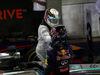 GP SINGAPORE, 21.09.2014 - Gara, Lewis Hamilton (GBR) Mercedes AMG F1 W05 vincitore e secondo Sebastian Vettel (GER) Red Bull Racing RB10