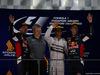 GP SINGAPORE, 21.09.2014 - Gara, Lewis Hamilton (GBR) Mercedes AMG F1 W05 vincitore, secondo Sebastian Vettel (GER) Red Bull Racing RB10 e terzo Daniel Ricciardo (AUS) Red Bull Racing RB10