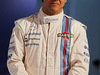 WILLIAMS MARTINI RACING FW36, Felipe Massa (BRA) Williams, with Martini livery on his race suit. 06.03.2014. Formula One Launch, Williams FW36 Official Unveiling, London, England.