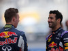 GP ABU DHABI, 29.11.2015 - Daniil Kvyat (RUS) Red Bull Racing RB11 e Daniel Ricciardo (AUS) Red Bull Racing RB11