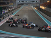 GP ABU DHABI, 29.11.2015 - Gara, Start of the race, Daniil Kvyat (RUS) Red Bull Racing RB11 e Felipe Massa (BRA) Williams F1 Team FW37
