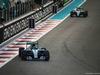 GP ABU DHABI, 29.11.2015 - Gara, Nico Rosberg (GER) Mercedes AMG F1 W06 davanti a Lewis Hamilton (GBR) Mercedes AMG F1 W06