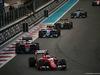 GP ABU DHABI, 29.11.2015 - Gara, Sebastian Vettel (GER) Ferrari SF15-T davanti a Jenson Button (GBR)  McLaren Honda MP4-30.
