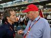 GP ABU DHABI, 29.11.2015 - Gara, Alain Prost (FRA) e Nikki Lauda (AU), Mercedes