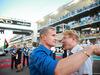 GP ABU DHABI, 29.11.2015 - Gara, David Coulthard (GBR) e Mika Hakkinen