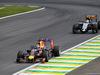 GP BRASILE, 15.11.2015 - Gara, Daniel Ricciardo (AUS) Red Bull Racing RB11 davanti a Sergio Perez (MEX) Sahara Force India F1 VJM08