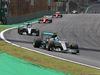 GP BRASILE, 15.11.2015 - Gara, Nico Rosberg (GER) Mercedes AMG F1 W06 davanti a Lewis Hamilton (GBR) Mercedes AMG F1 W06